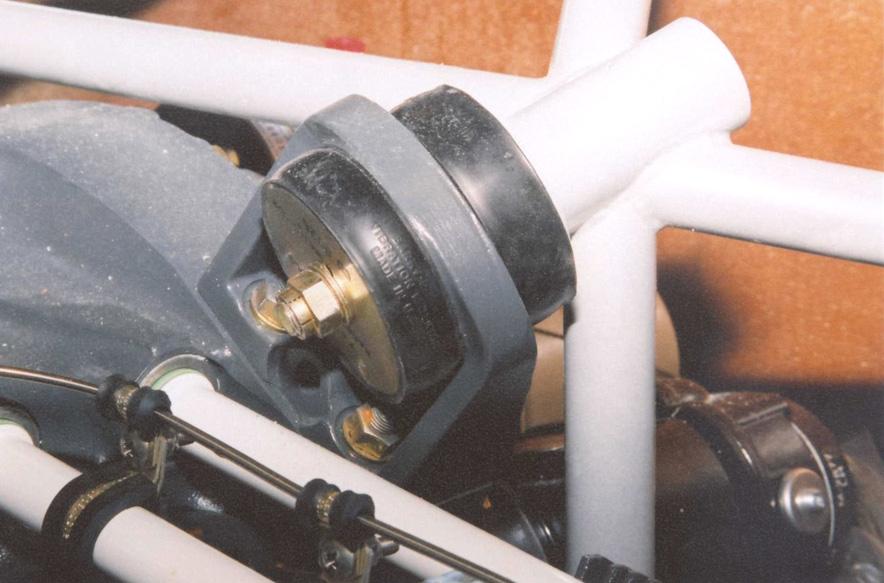 Engine lycoming io540 for Vibration dampening motor mounts