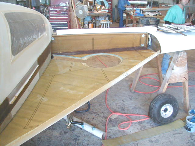 Strakes and Fuel Tanks